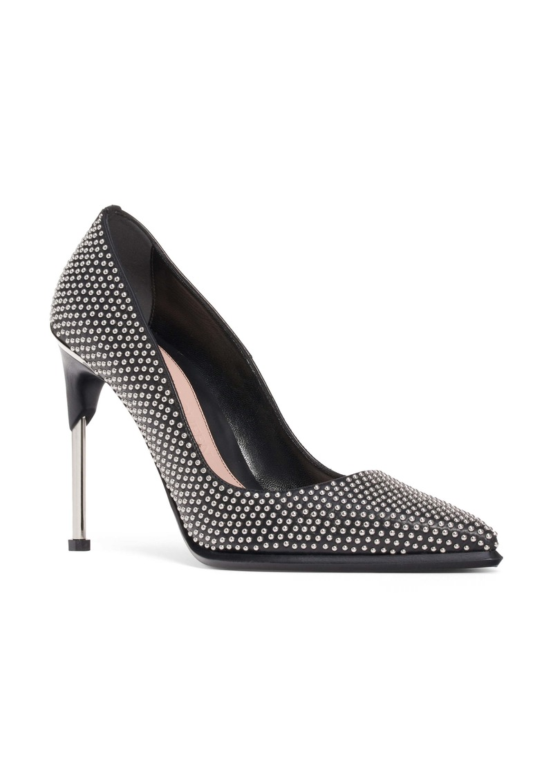 Alexander McQueen Studded Pointed Toe Pump (Women)
