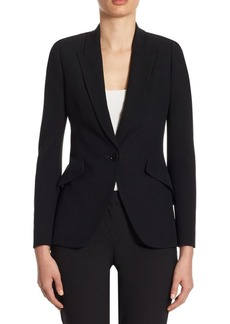 Alexander McQueen Tailored Peak-Lapel Jacket