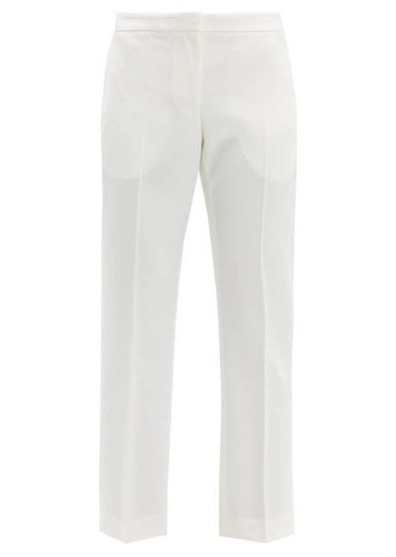 Alexander McQueen Tailored virgin wool-twill trousers