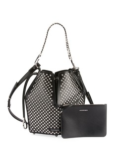 Alexander McQueen The Bucket Studded Shoulder Bag