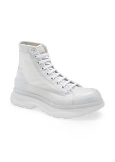 Alexander McQueen Tread Slick Clear Sole Boot (Men)