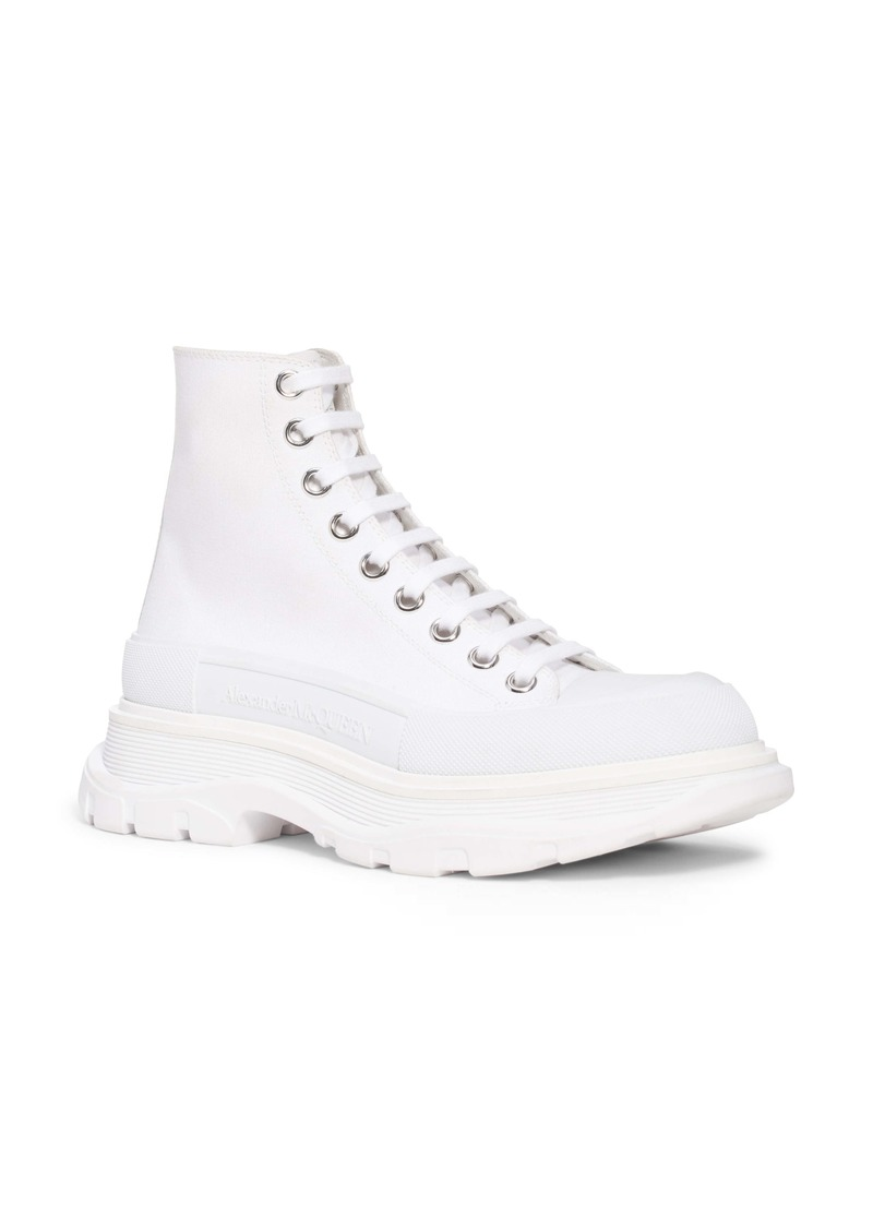 Alexander McQueen Tread Slick High Top Sneaker (Women)