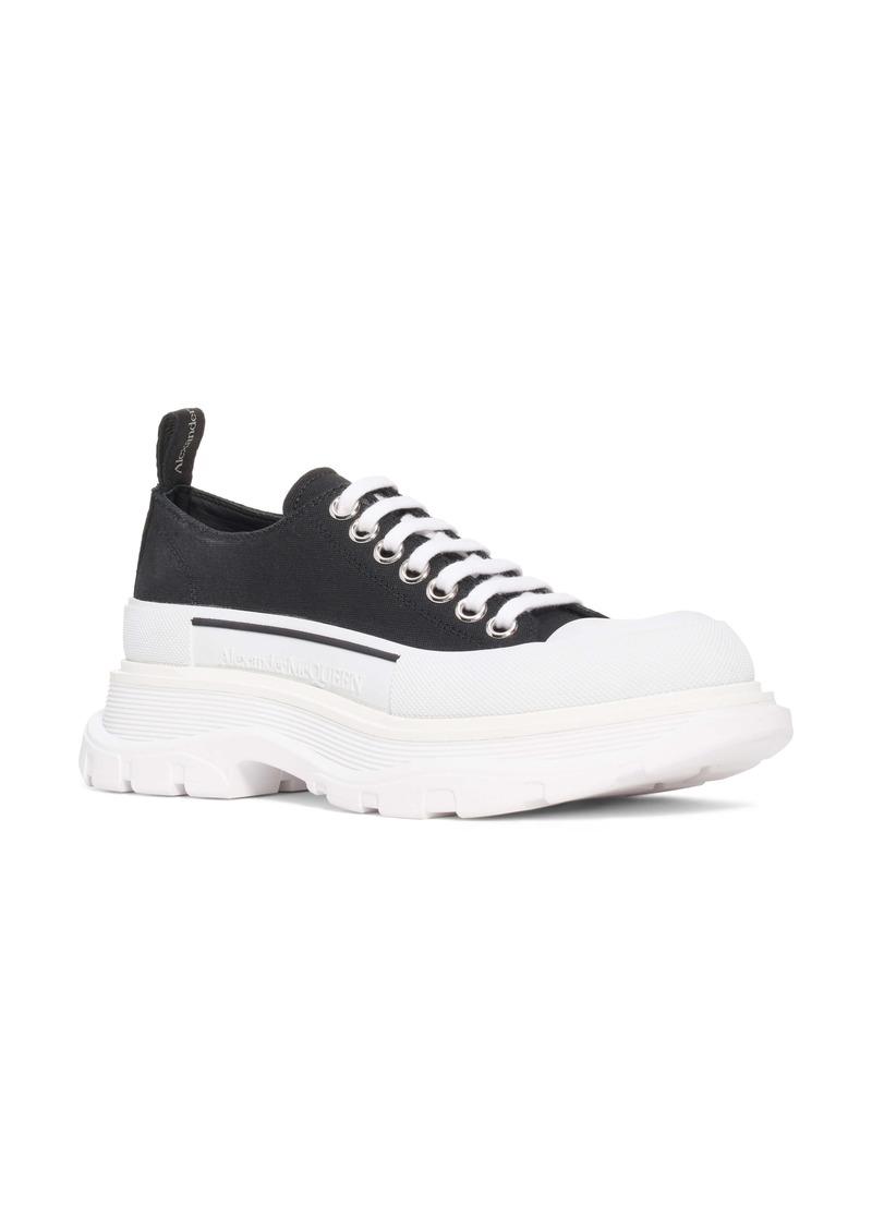 Alexander McQueen Tread Slick Low Top Sneaker (Women)