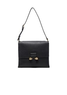 Alexander McQueen Twin Skull Leather Bag