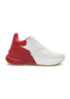 Alexander McQueen Two Tone Platform Sneakers