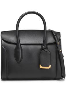 Alexander Mcqueen Woman Heroine 30 Leather Shoulder Bag Black