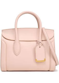 Alexander Mcqueen Woman Heroine 30 Leather Shoulder Bag Pastel Pink