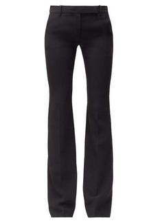 Alexander McQueen Wool-blend flared trousers