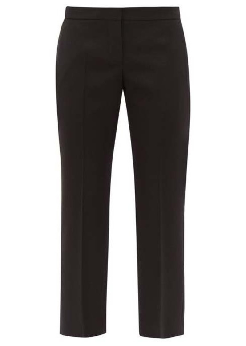 Alexander McQueen Wool-twill tailored trousers