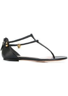 Alexander McQueen zipped sandals - Black