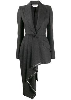 Alexander McQueen asymmetric hem jacket