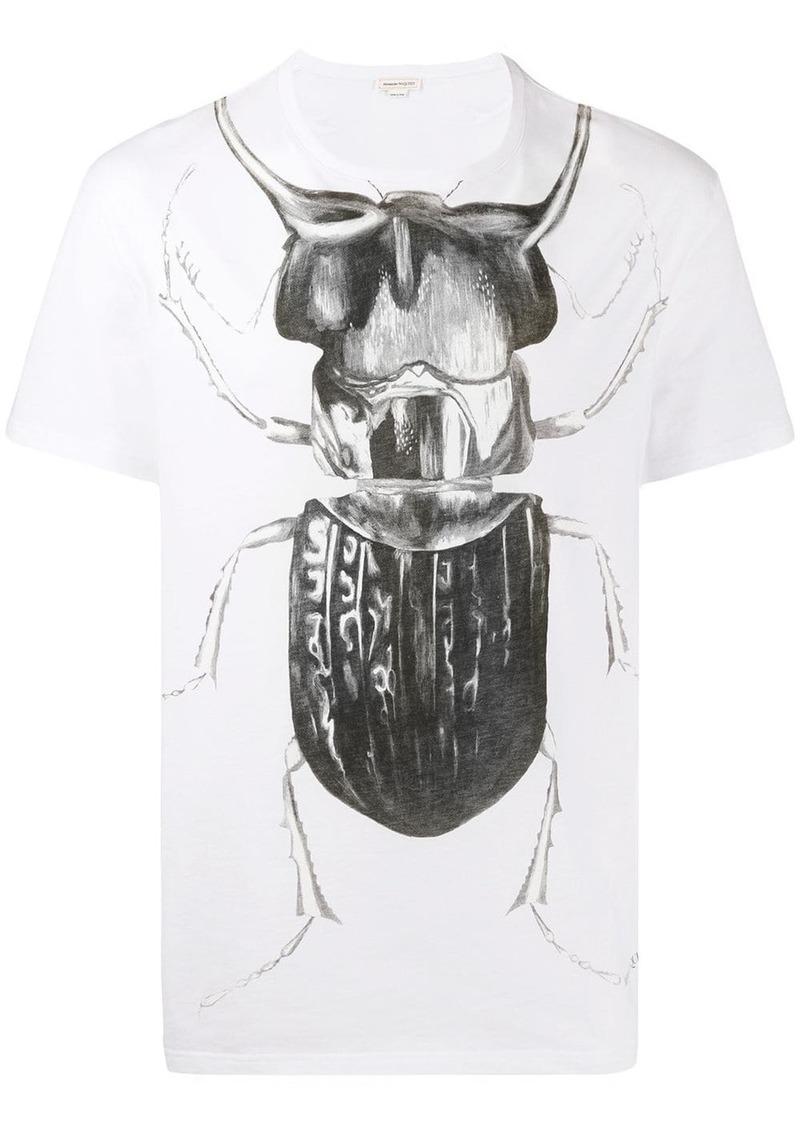 Alexander McQueen beetle print T-shirt