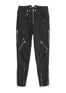 Alexander McQueen Biker Jeans with Zippers