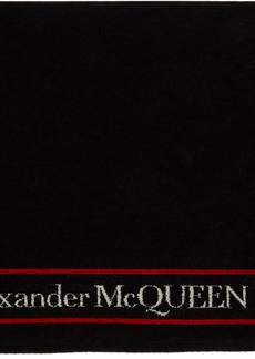 Alexander McQueen Black & White Selvedge Towel