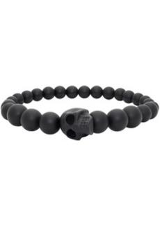 Alexander McQueen Black Ball Skull Bracelet