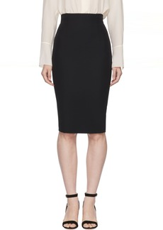 Alexander McQueen Black High-Waisted Pencil Skirt