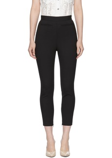 Alexander McQueen Black High-Waisted Trousers