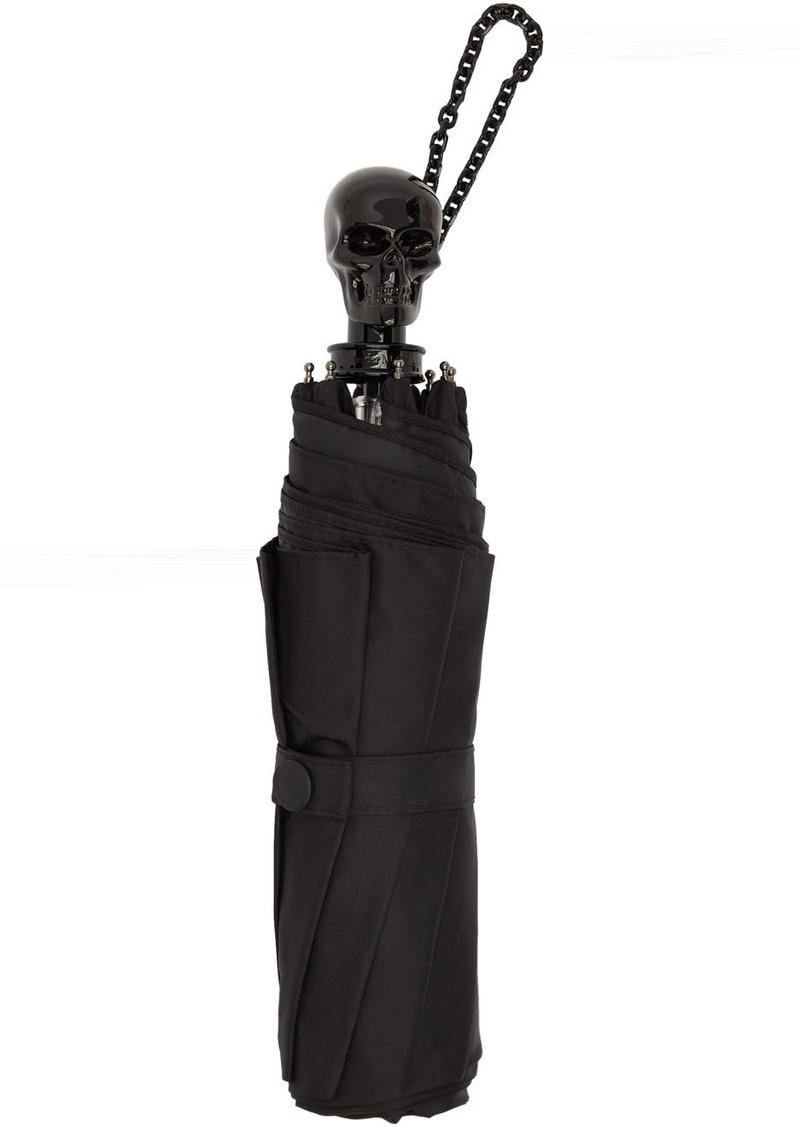 Alexander McQueen Black Skull Umbrella
