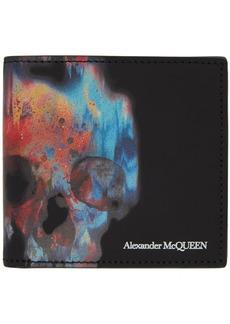 Alexander McQueen Black Skull Wallet