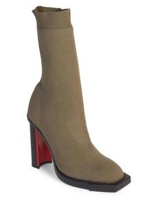 Alexander McQueen Block Heel Sock Boots