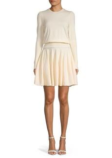 Alexander McQueen Blouson Sweater Dress