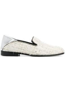 Alexander McQueen bouclé loafers