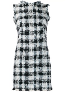 Alexander McQueen bouclé tweed mini dress