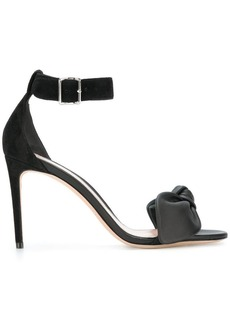Alexander McQueen bow detail sandals