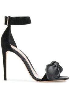 Alexander McQueen bow detail stiletto sandals
