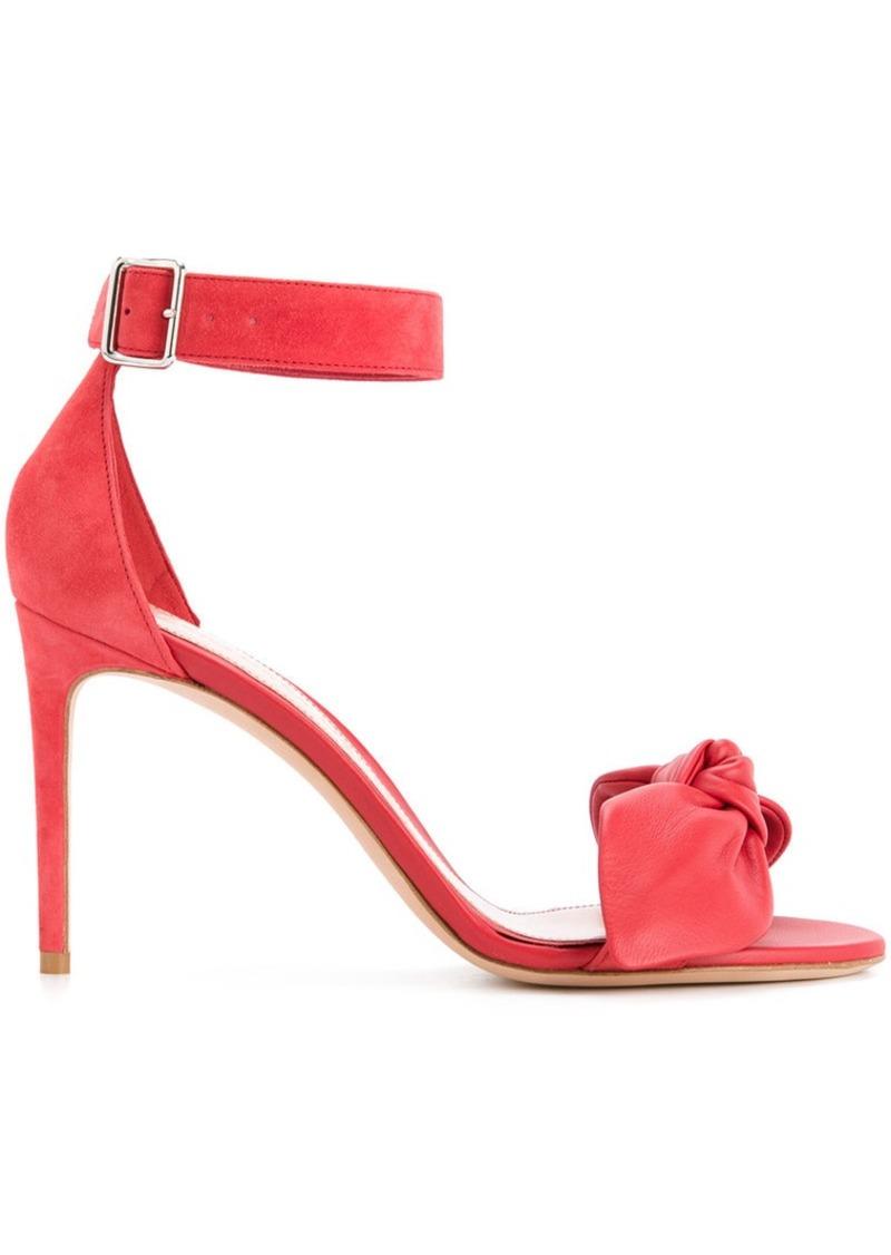 Alexander McQueen bow detail stiletto sandals