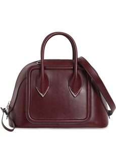 Alexander McQueen Bowling Leather Top Handle Bag
