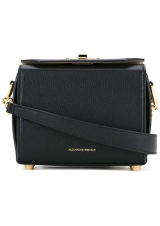 Alexander McQueen black Box shoulder bag