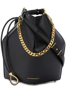 Alexander McQueen bucket shoulder bag