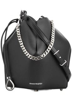 Alexander McQueen chain style bucket bag