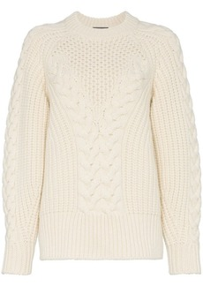 Alexander McQueen Chunky Knit Sweater