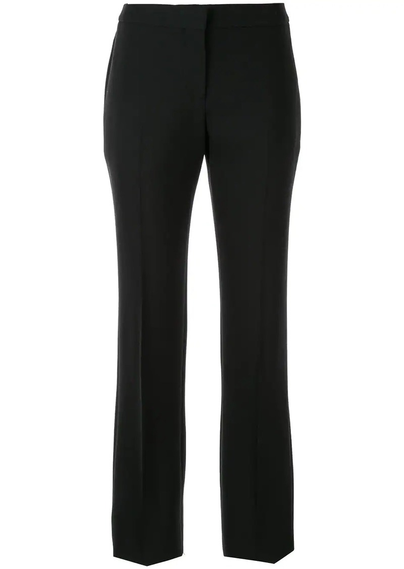 Alexander McQueen classic straight-cut trousers