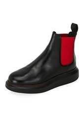 Alexander McQueen Colorblock Leather Chelsea Boots