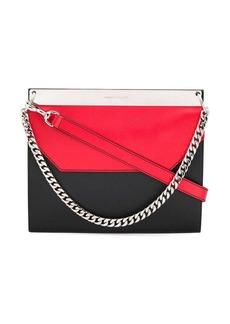 Alexander McQueen colourblock shoulder bag