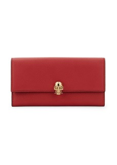Alexander McQueen Continental Leather Wallet