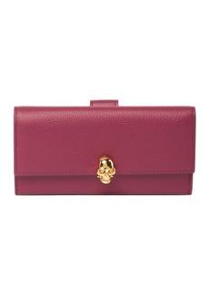 Alexander McQueen Continental Leather Wallet