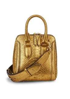 Alexander McQueen Convertible Leather Handbag