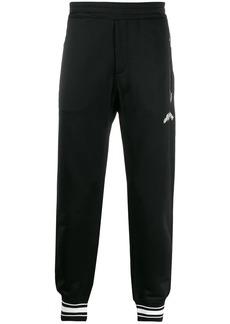 Alexander McQueen cotton-blend logo sweatpants