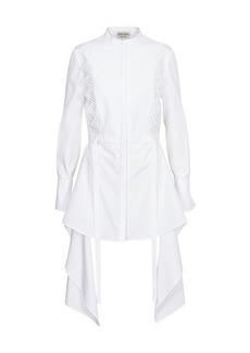 Alexander McQueen Cotton top