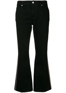 Alexander McQueen cropped flared jeans