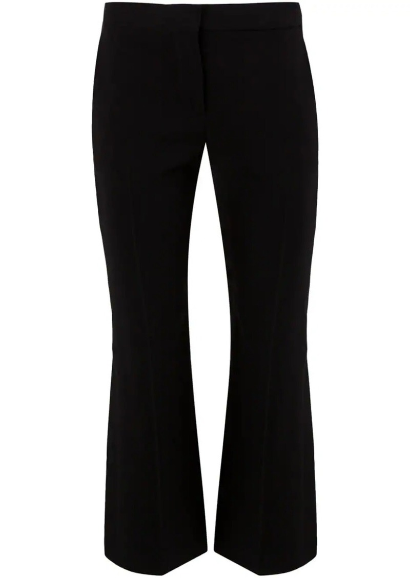 Alexander McQueen cropped flared trousers