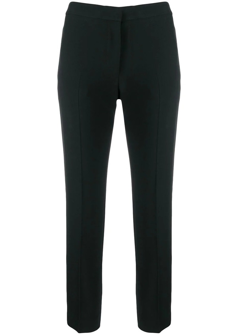 Alexander McQueen cropped leg cigarette trousers