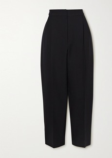 Alexander McQueen Cropped Wool-blend Tapered Pants