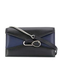 Alexander McQueen crystal colour block bag