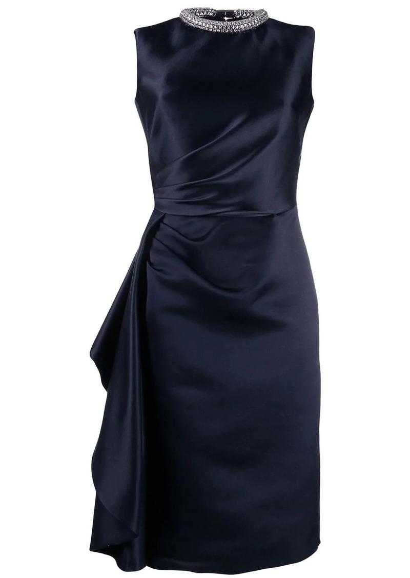 Alexander McQueen crystal embellished dress