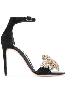 Alexander McQueen crystal embellished sandals